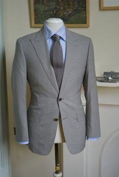 Beautiful SB peak lapel jacket. P. Johnson tailors in Australia.#Repin By:Pinterest++ for iPad#