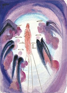 Salvador Dali 'The Joy of the Blessed' Divine Comedy, Paradiso Canto 24