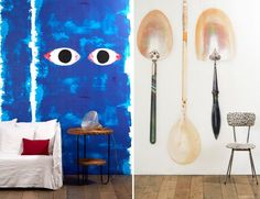 To celebrate the D'Days festival, merci is inviting visitors to an Paola Navone, Street, Interior, Blog, Painting, Milan, Walls, Illustrations, Design