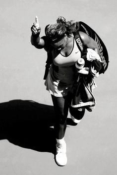 Serena Williams in her 4th Round match at the Australian Open 2014 #WTA #Williams #AUSOpen
