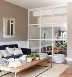 Crea espacios de cristal | Decorar tu casa es facilisimo.com