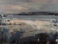 Hannah Woodman Sea Spray and Clouds, Sennen