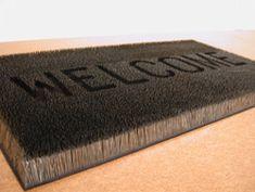 Mona Hatoum's welcome mat made of straight pins