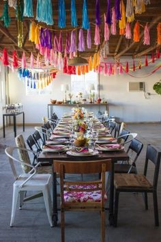 Best ceiling decor suggestions for a celebration – There are many factors to throw an event, and there are even more methods to embellish for said cel… - New Deko Sites Party Decoration, Wedding Decorations, Table Decorations, Balloon Ceiling Decorations, Quinceanera Decorations, Lila Party, Tassle Garland, Tassels, Mexican Party