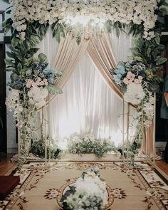Sunflower Wedding Decorations, Wedding Stage Decorations, Engagement Decorations, Backdrop Decorations, Wedding Backdrop Design, Wedding Stage Design, Wedding Reception Backdrop, Modern Wedding Flowers, Floral Wedding