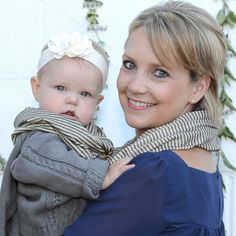 Part of our Mommy and Baby Borelli collection.  Add a matching scarf for your little one for just $15 more.