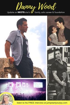 Who didn't have New Kids on the Block shirts in the 80s? If you were a die hard fan, this is for you! Now a father with kids, Danny Wood talks family and shares memorable stories about his mom and Donnie and opens up about with heartfelt quotes about his foundation, Remember Betty. Female podcaster Paula Jenkins shares this rare NKOTB interview, including insight into his motivational speeches on NKOTB cruises. http://jumpstartyourjoy.com/2016/01/episode-20-danny-wood-look-at-me/