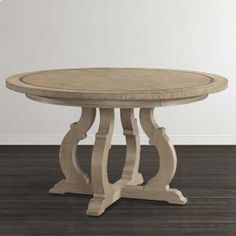 4628K5454 in by Bassett Furniture in Okemos, MI - Abbott Tan Artisanal Round Dining Table