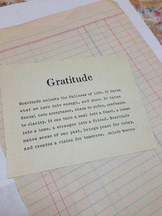 So Very Grateful . . . — Serendipity Studios