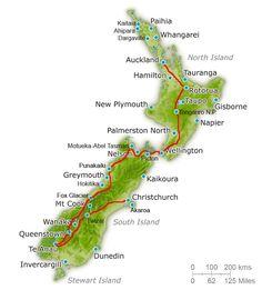 Itinerario Nueva Zelanda