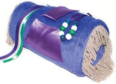 Twiddle Muff.. used for sensory stimulation for dementia patients