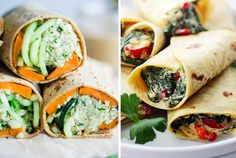15 Mouthwatering Vegetarian Wraps Even Carnivores Will Love