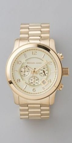 michael+kors+watch - Click image to find more Women's Fashion Pinterest pins