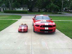 Parenting done right. Parenting Done Right, Mustangs, Mustang