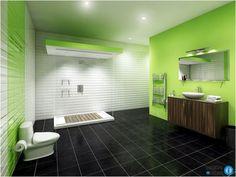 bathroom color and tile ideas