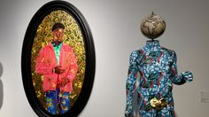 Kehinde Wiley and Yinka Shonibare ART @ #artbaselmiami #blackart #contemporaryartist #DoYOUBasel #blackandbasel #artbasel #miami #contemporaryart