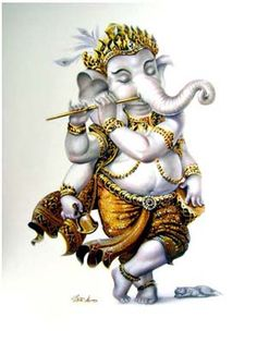 มหามงคล.คอม More Jai Ganesh, Shree Ganesh, Ganesha Art, Ganesha Drawing, Ganesha Pictures, Ganesh Images, Indian Gods, Indian Art, Dancing Ganesha