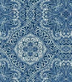 Home Decor Print Fabric- HGTV HOME Well Adorned Gemstone
