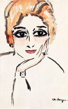Kees van Dongen, La femme à la montre