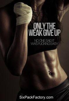 Keep pushing. Don't quit!