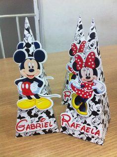 Cone Mickey e Minnie