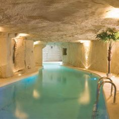 Hotel troglodyte - near Loire Valley in France