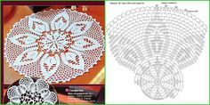 Crochet Doilies, Crochet Hats, Irish Crochet, Coasters, Sewing, Charlotte, Crochet Stitches Chart, Crochet Diagram, Towels