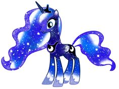 Galaxy Princess Luna by DigiTeku.deviantart.com on @deviantART