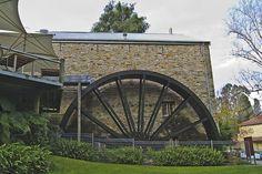 Bridgewater Mill Waterwheel Adelaide Hills by glenyc50, via Flickr