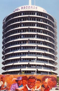 The Capitol Records Building, located in Hollywood, Los Angeles. Jamaica Honeymoon, Thailand Honeymoon, The Beach Boys, Krabi, Cayman Islands, Los Angeles Tourism, Natural Acne Remedies, Hotels, Best Teeth Whitening