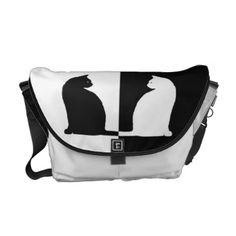 Cute Cats Messenger Bag #cute #cats #messenger #bag #black #white #tabby #kitten #pet #animal #patched #tuxedo #shorthair #longhair #commuter #courier #accessory #compartment #velcro #strip