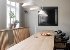 London design practice Studioilse has moved into Copenhagen design gallery The Apartment for a three-month residency. Dining Room Design, Dining Area, Dining Rooms, Dinning Table, Kitchen Dining, Table Lamp, Bjarke Ingels Architecture, Copenhagen Design, Turbulence Deco