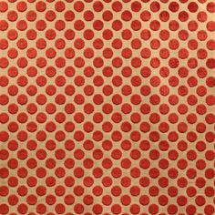 Jane Churchill Helios -- red