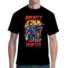 Kopfgeldjäger, taktisches Genie, Scharfschütze, Beschützer der Galaxie... echt überraschend, zu welchen Leistungen ein mutierter Waschbär in der Lage ist. Farbintensives Fun-Shirt für Comic Fans Genie, Bounty Hunter, Comics, Mens Tops, T Shirt, Cool Shirts, Tee, Comic, Comic Book
