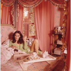 Fashion designer Diane Von Furstenberg by Horst P. Horst for Vogue, July 1976
