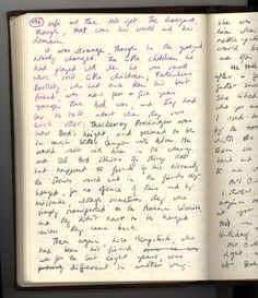 This Is What A Handwritten Novel By Neil Gaiman Looks Like