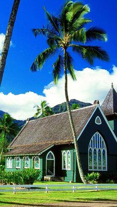 Waioli Huiia Church, Kauai, Hawaii, USA