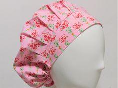 f2e64e4eae3 Scrub Cap Pink Heart Flowers Bouquet Print Bouffant Scrub Hat for Women  Women s Chemo Cap Surgical hat Veterinarian Nurse Scrub Cap