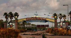 Veja como seriam os parques da Disney se estivessem abandonados (FOTOS)