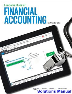 Solutions manual for fundamentals of financial management 14th solutions manual for fundamentals of financial accounting canadian canadian 4th edition by phillips fandeluxe Choice Image
