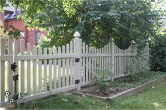 "Willowbrook Picket Fencing - Top Rail: 2""x3.5"" / Bottom Rail: 2""x3.5""  Picket: 0.875""x3"" (Good Neighbor)  w/Dog Ear Cap*  ~Picket  Spacing = 2.5"" w/9"" Drop  72"" on Center"