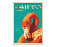 Affiche Flamingo Lounge