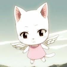 Baby Charle actually looks like a chibi Fairy Tail Carla Fairy Tail, Fairy Tail Cat, Anime Fairy Tail, Fairy Tail Girls, Super Manga, Chibi, Fariy Tale, Best Anime Shows, Fairy Tail Characters