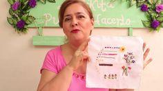 PASO A PASO BORDADO EN CINTAS PARA PRINCIPIANTES  5/7 -EMBROIDERED RIBBO...