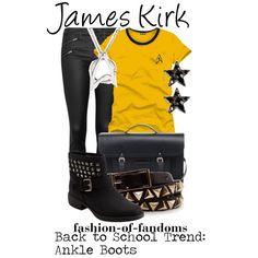 """""""James Kirk (Star Trek)"""" by fofandoms on Polyvore"""