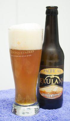 Exulans Pacific Ale. Amber Ale. 5.1º