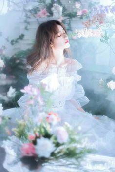 Fairytale Dress, Fairy Dress, Princess Aesthetic, Aesthetic Girl, Uzzlang Girl, Art Girl, Cute Korean Girl, Asian Girl, Beautiful Fantasy Art