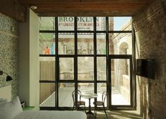 Wythe Hotel (Brooklyn,Nueva York) Williamsburg, barrio muy cool Antigua fábrica reformada con buen gusto