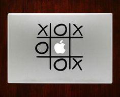 Tic tac toe Macbook Pro / Air 13 Decal Stickers