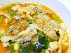 ต้มยำขาหมูฝีมือแม่ ซี๊ดมากกก ���� #กินข้าวบ้าน . . . . . . . . . . . . . . . #sab #thaicuisine #eatlocal #eatstagram #enjoyeating #instafood #instagram #thaifood #lifestyle #foodpic #foodgasm #foodthai #vscofood #loveeat #vsco #vscocam #yummy #bloggerstyle #tomyum #pork http://w3food.com/ipost/1504404658083663306/?code=BTguBDbhQ3K